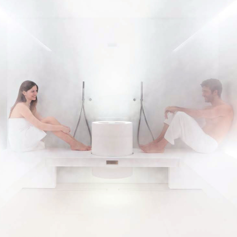 Come realizzare una spa o un centro benessere nel tuo - Bagno di vapore polmoni ...